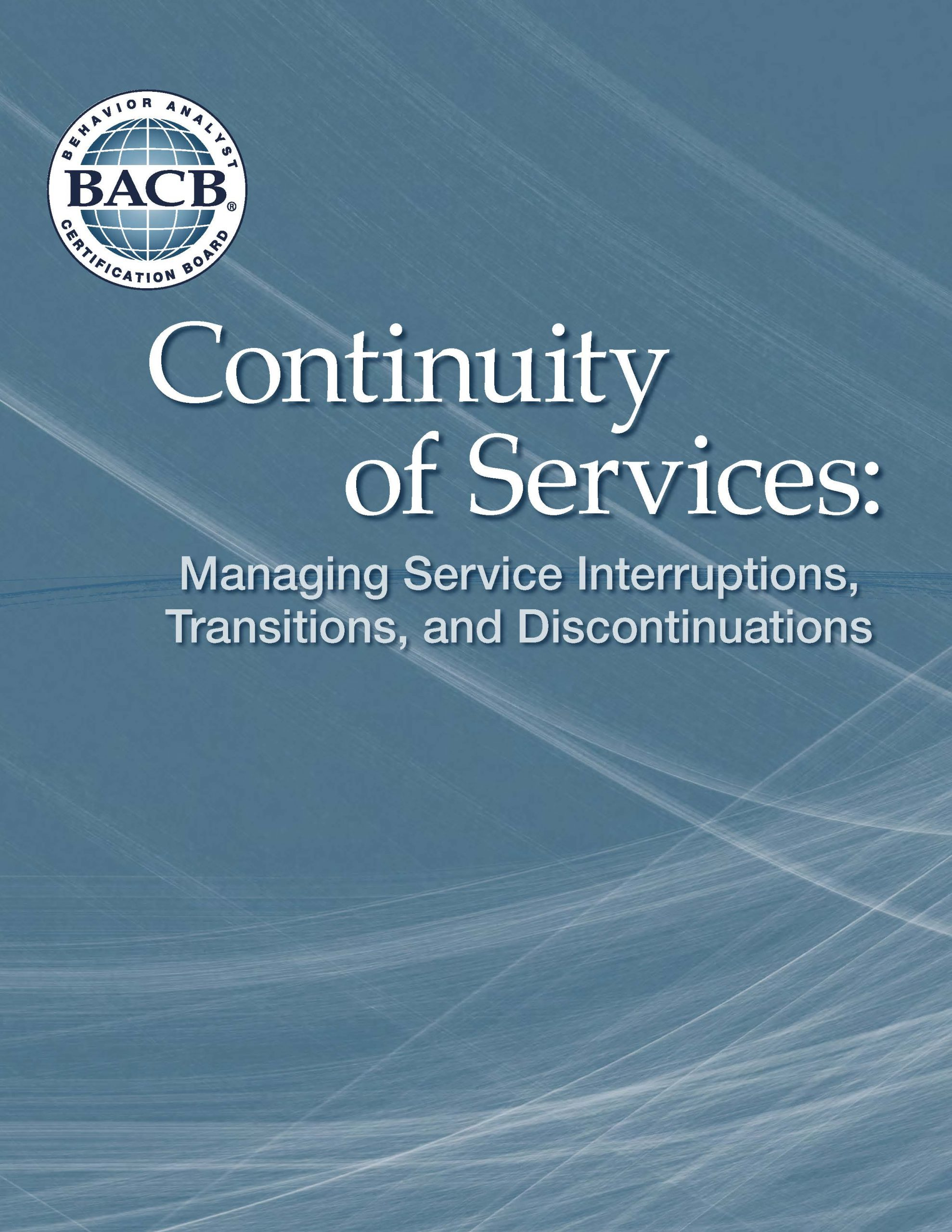 Continuity of Services thumbnail